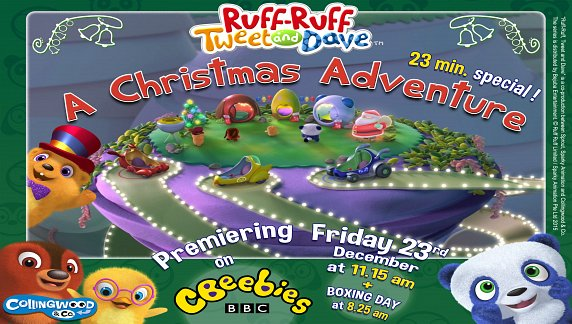 Tune in for the Ruff-Ruff, Tweet and Dave's Christmas Adventure